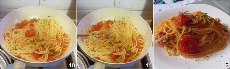 Spaghetti alla bottarga ricetta veloce il chicco di mais 4