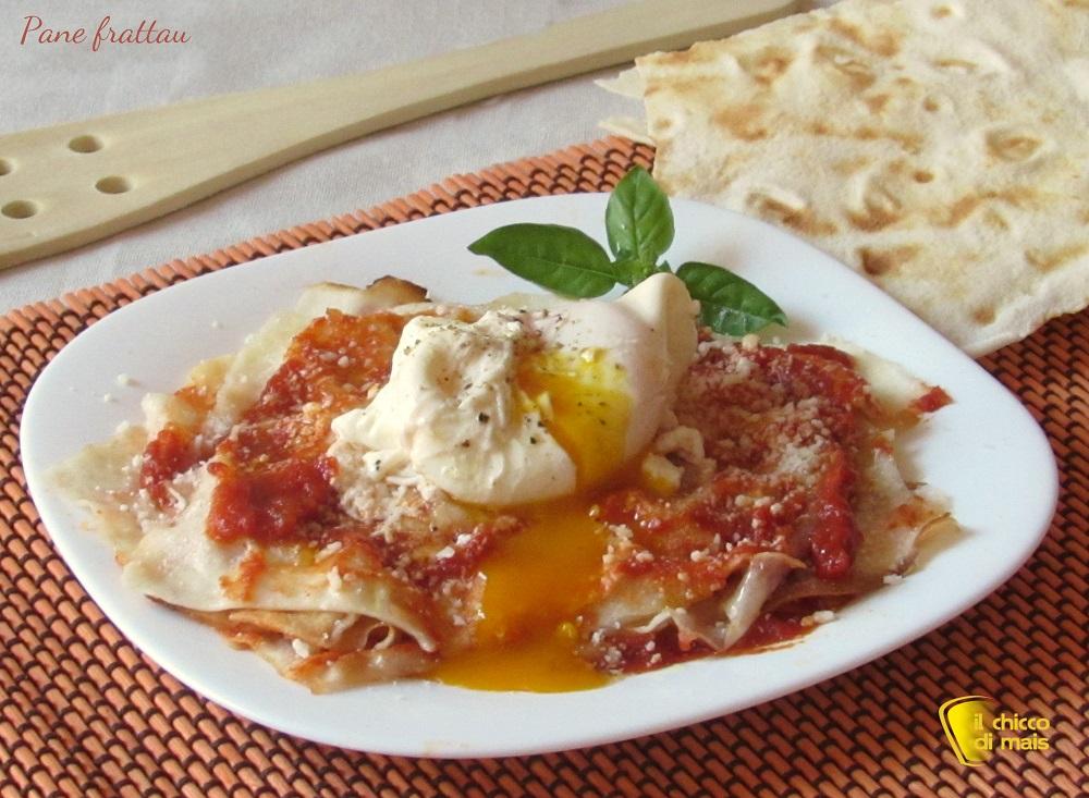 antipasti e secondi con le uova Pane frattau ricetta sarda il chicco di mais