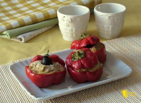 Peperoni tondi ripieni, ricetta