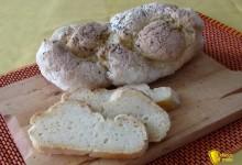 Trecce di pane senza glutine, ricetta