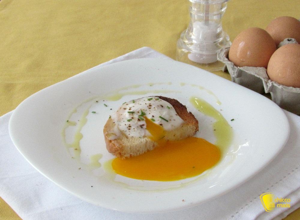 antipasti e secondi con le uova Uova in camicia al microonde ricetta veloce il chicco di mais
