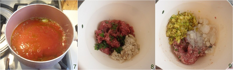 Zucchine ripiene di carne al pomodoro ricetta il chicco di mais 3
