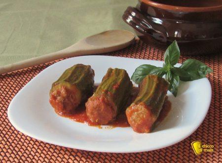 Zucchine ripiene di carne al pomodoro, ricetta