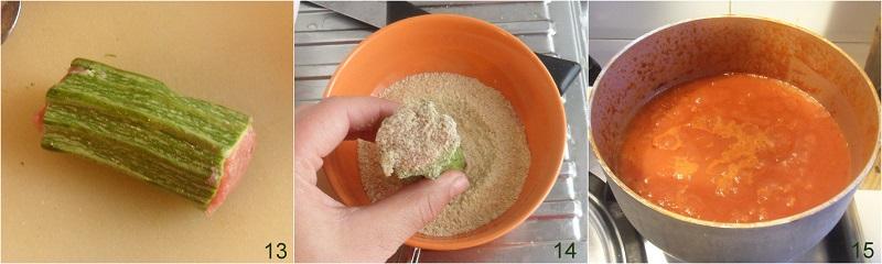 Zucchine ripiene di carne al pomodoro ricetta il chicco di mais 5