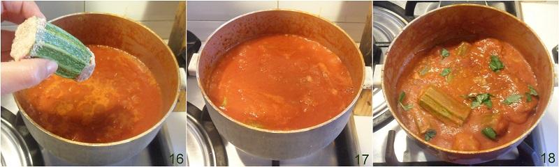 Zucchine ripiene di carne al pomodoro ricetta il chicco di mais 6
