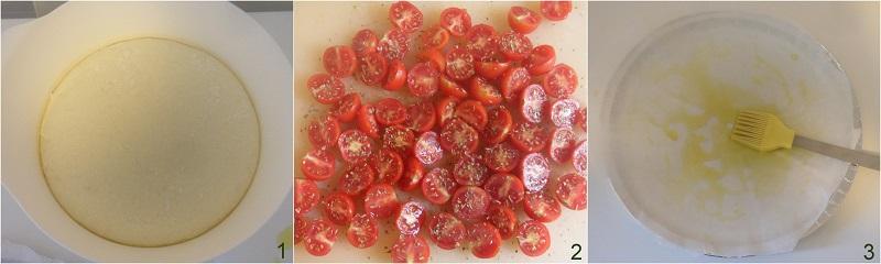 Focaccia rovesciata ai pomodorini ricetta il chicco di mais 1