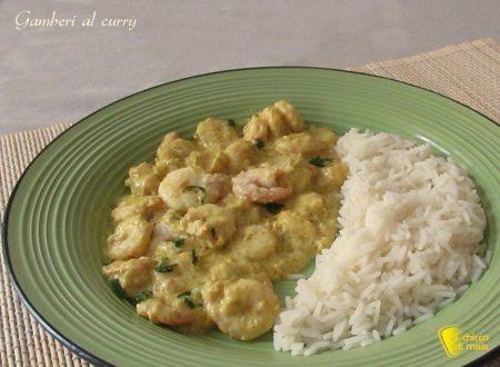 Gamberi al curry, ricetta indiana