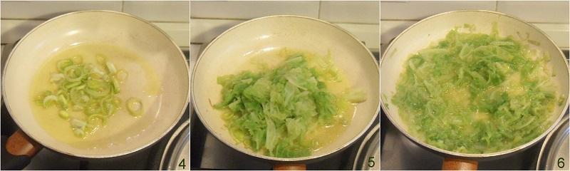 Gnocchi cremosi con verza e taleggio ricetta il chicco di mais 2