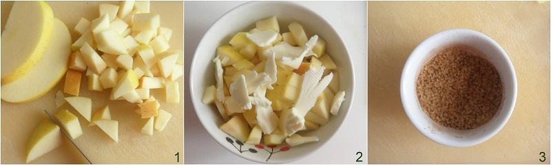Mele cotte al microonde ricetta il chicco di mais 2