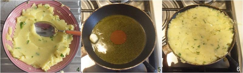 Tortino di patate in padella ricetta semplice il chicco di mais 2