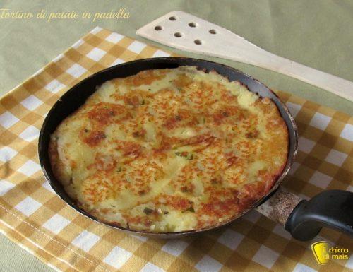 Tortino di patate in padella, ricetta semplice