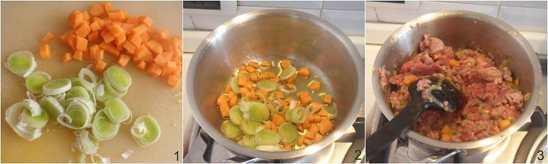 Pasticcio di carne con patate e mozzarella ricetta il chicco di mais 1