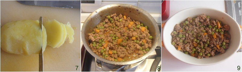 Pasticcio di carne con patate e mozzarella ricetta il chicco di mais 3