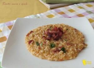 ricette con la zucca risotto zucca e speck