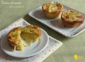 antipasti di natale Tortini di patate dal cuore filante ricetta il chicco di mais