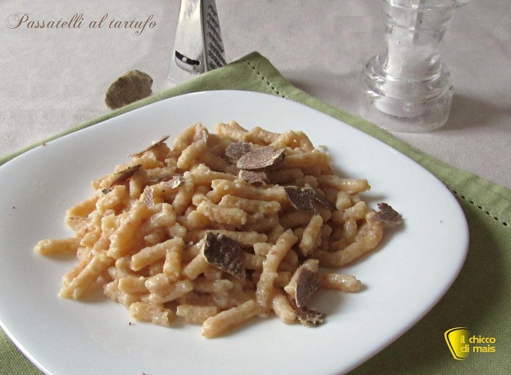 menu di natale vegetariano passatelli al tartufo ricetta il chicco di mais