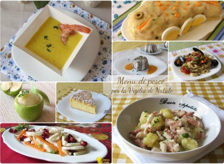 Menu per la vigilia di Natale, 10 ricette di pesce