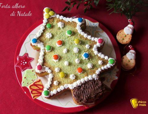 Torta albero di Natale decorata, ricetta