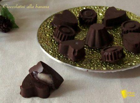 Cioccolatini alla banana, ricetta