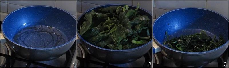 Cestini di carasau agli spinaci ricetta con video il chicco di mais 1