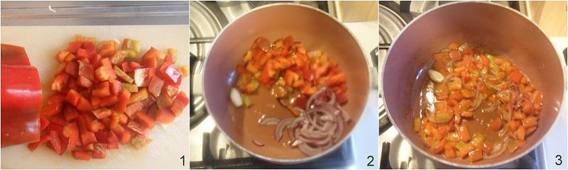Chili di lenticchie ricetta vegetariana tex-mex il chicco di mais 1
