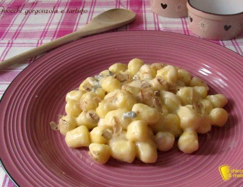 Gnocchi al gorgonzola e tartufo, ricetta veloce
