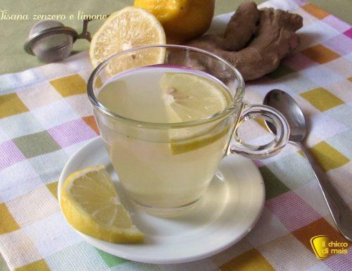 Tisana zenzero e limone, depurativa e digestiva