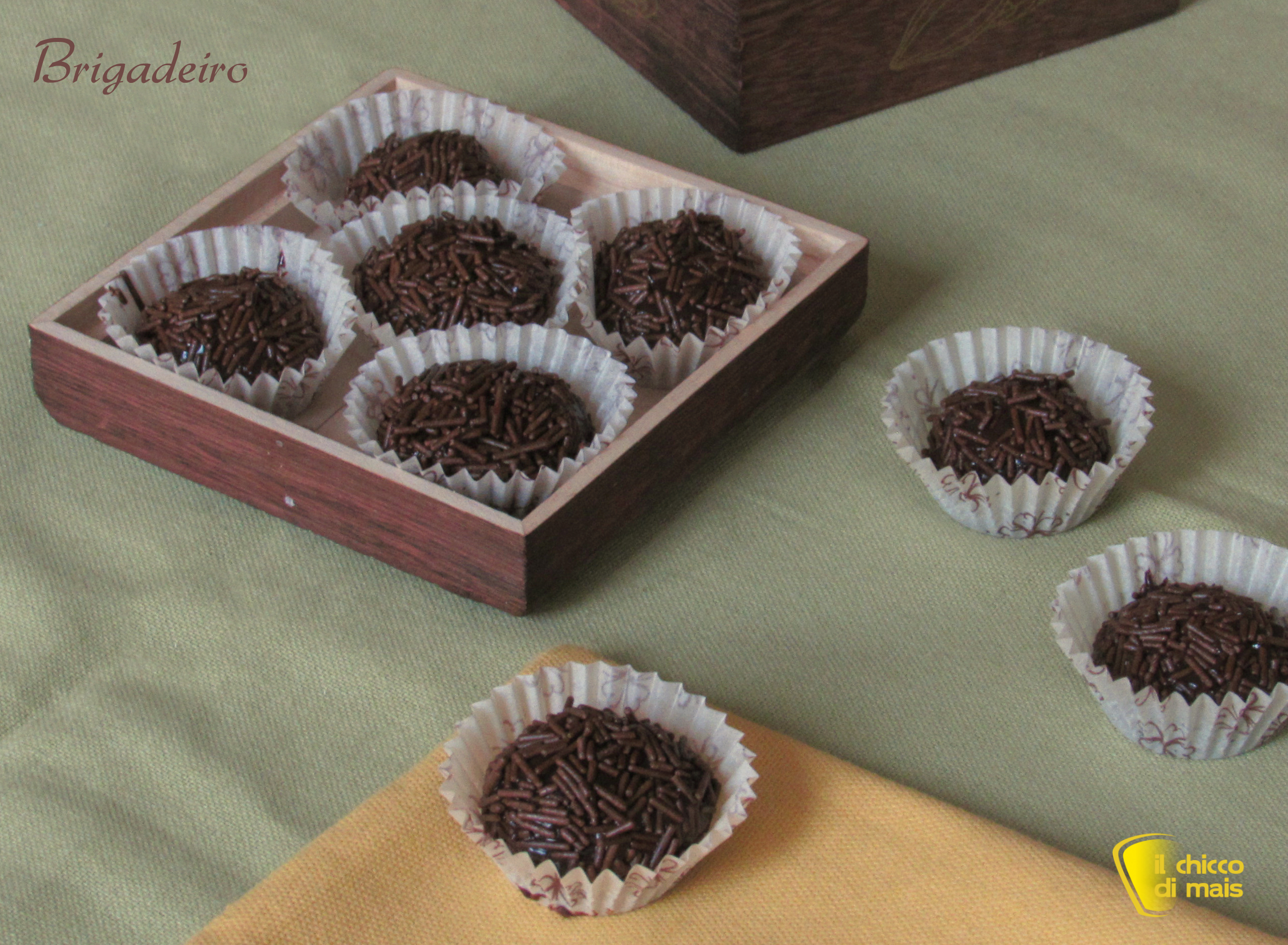 Brigadeiro - palline al cioccolato, ricetta brasiliana