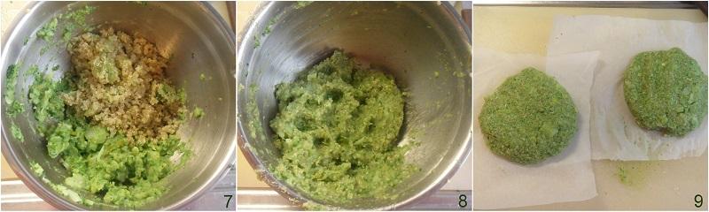 Burger di quinoa e broccoli ricetta vegan il chicco di mais 3