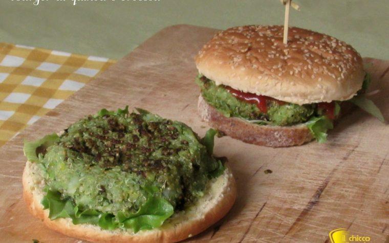 Burger di quinoa e broccoli, ricetta vegan