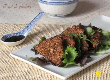Toast di gamberi, ricetta cinese