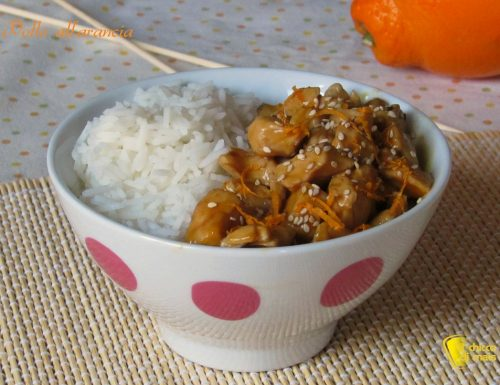 Pollo all'arancia, ricetta orientale