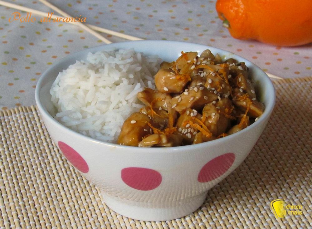 pollo all'arancia ricetta orientale il chicco di mais
