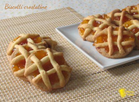 Biscotti crostatine, ricetta semplice