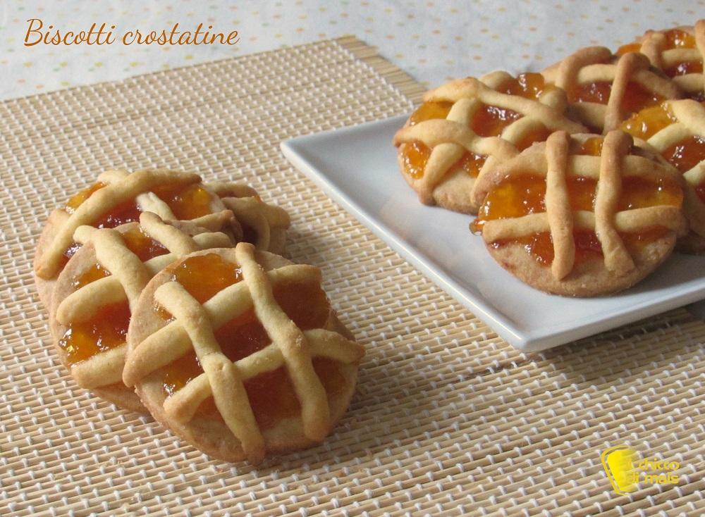 ricette per buffet e rinfreschi Biscotti crostatine ricetta semplice il chicco di mais