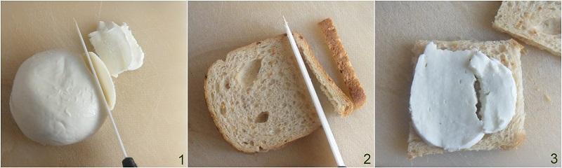 Mozzarella in carrozza ricetta senza pangrattato il chicco di mais 1