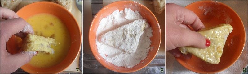 Mozzarella in carrozza ricetta senza pangrattato il chicco di mais 3
