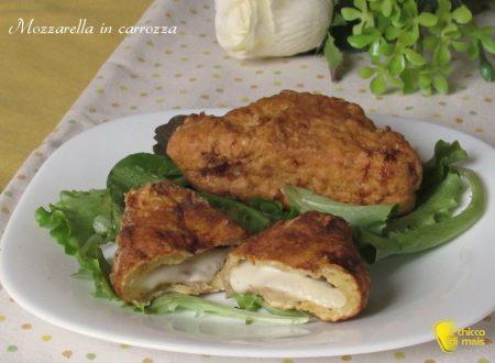 Mozzarella in carrozza, ricetta senza pangrattato