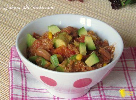 Quinoa alla messicana, ricetta vegan