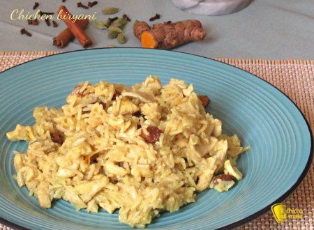 Chicken biryani, pollo all'indiana