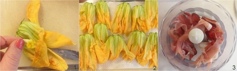 fiori di zucca ripieni al forno ricetta il chicco di mais 1