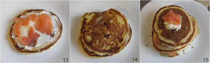 pancakes salati al salmone ricetta il chicco di mais 5