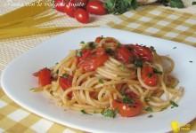 Pasta con le vongole fujute (scappate), ricetta napoletana