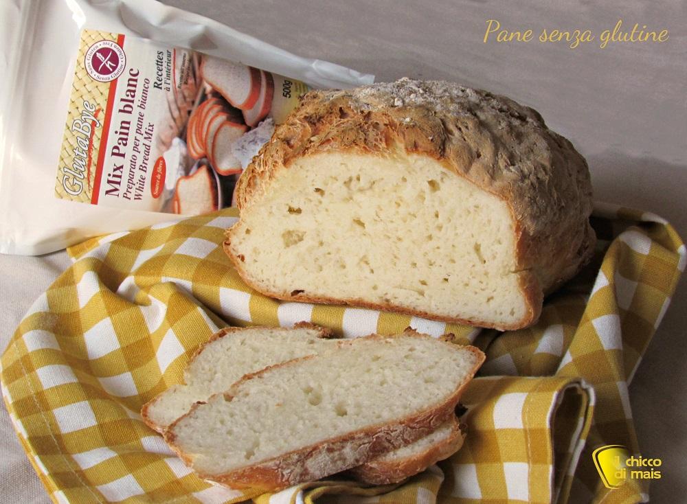 Pane senza glutine con farina Glutabye ricetta il chicco di mais