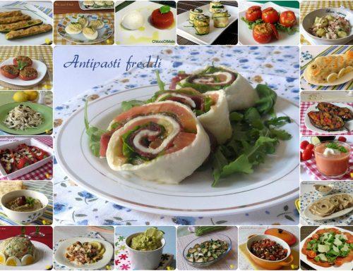 Antipasti freddi, ricette facili e veloci