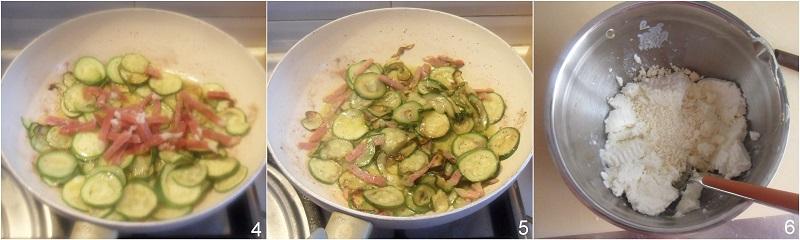 Strudel con zucchine ricotta e prosciutto ricetta con pasta sfoglia il chicco di mais 2