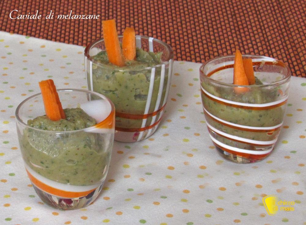 antipasti freddi caviale di melanzane ricetta crema di melanzane il chicco di mais