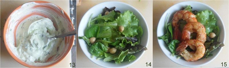 Insalata di gamberi con salsa allo yogurt ricetta estiva il chicco di mais 5 preparare l'insalata di gamberi