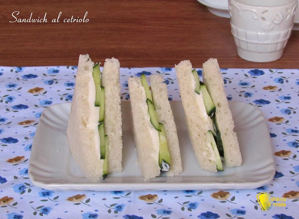 panini farciti ricette sandwich al cetriolo