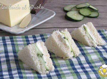Sandwich al cetriolo
